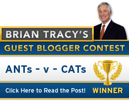 Brian Tracy Blog Winner